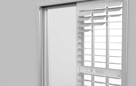 Optimized Blind Air Filters - The Window Air Purifier Works with Existing Architectural Ventilation