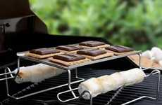 Camp Confectionery Roasting Racks - This S'more Roasting Rack Helps You Make Perfect Snacks