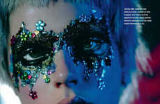 Dazzling Discotheque-Inspired Editorials