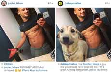 Puppy-Injected Selfies - This Dallas Pets Alive! Campaign Has Dogs Interrupt Selfies on Instagram