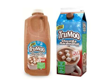Hot Cocoa-Inspired Drinks - The TruMoo Chocolate Marshmallow Milk Brings a Touch of Winter to Summer