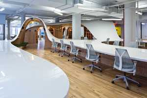Infinitely Collaborative Office Tables