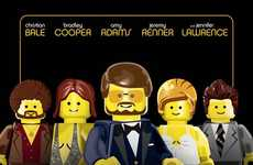 Children's Toy Oscar Posters - The Academy's Best Picture Nominees are Given a LEGO Makeover
