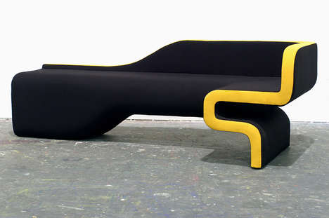 Groovy Asymmetrical Seating