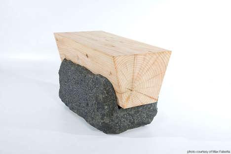 Stone-Embedded Seats
