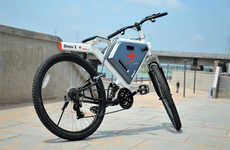 Cargo-Accommodating E-Bikes - The Cross X Gets You and Your Stuff Efficiently from A to B
