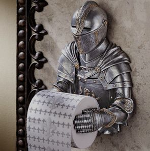 13 Bizarre Toilet Paper Holder Designs