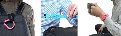 Zipper-Like Charging Bracelets