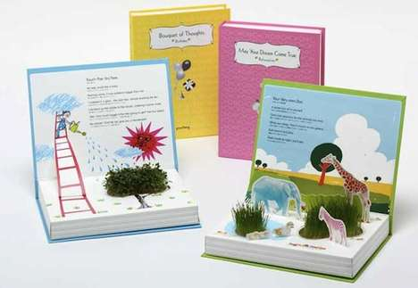 Sprouting Picture Books - The Green Story Collection Features Literal Pop-Up Shrubs