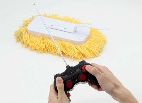 Remote-Controlled Mops - The RC Sugoi Mop Lets You Kick Back and Relax as It Cleans Up Your House