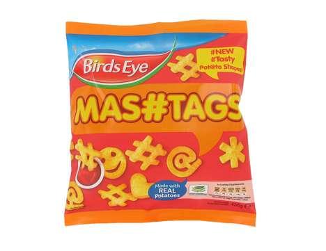 Hashtag-Inspired Potato Products