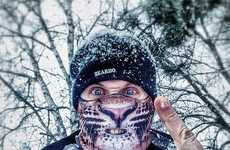 Fearsome Animal Ski Masks