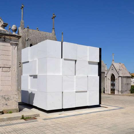 Rubik Cube-Inspired Mausoleums