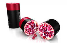 Fruit-Inspired Power Packs - This Pomegranate Fruit Battery Has The Ability to Produce Power