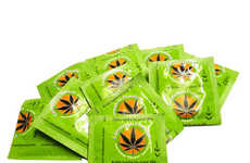 Marijuana-Inspired Protection - This Cannabis-Inspired Condom Will Make Your Night Unforgettable