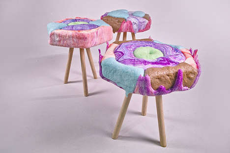 Sugary Candy-Coated Seating