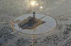 Reflective Solar Farms (UPDATE) - The Ivanpah Solar System Produces 392 Megawatts of Energy