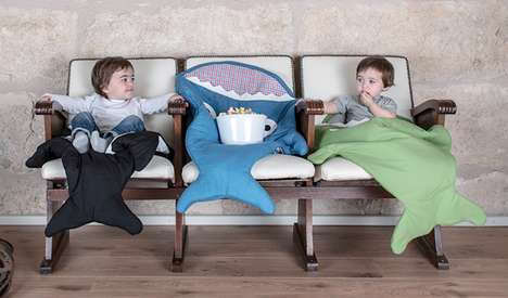 Fishy Infant Sleepers - These Baby Bites Sleeping Bags Will Hungrily Keep Your Young Ones Warm