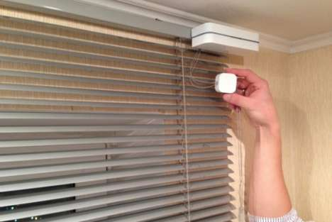 Self-Closing Smart Blinds