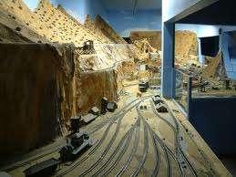 Massive Miniature Train Attractions
