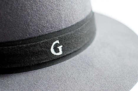 Chic DIY Monogram Hats