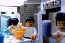 Scary LEGO Movie Scenes - This LEGO Recreation Restages the Alien Chestburster Scene