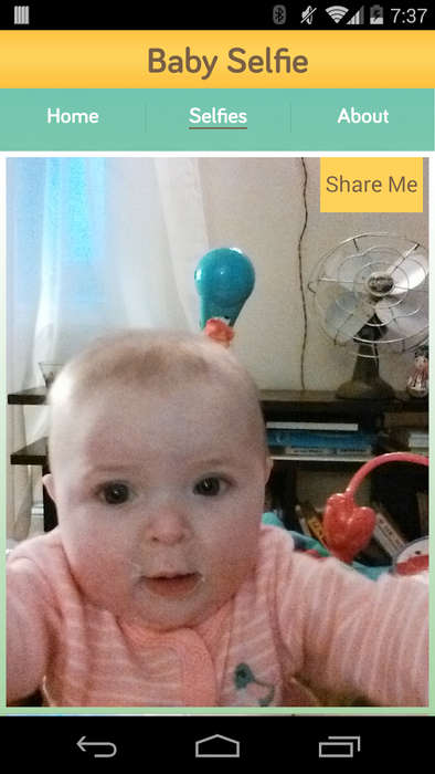 Baby-Targeted Selfie Apps