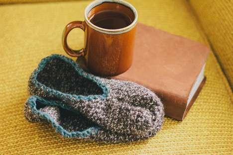 Cozy DIY Slippers