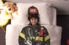 Courageous Firefighter Duvets