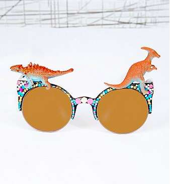 Playfully Eccentric Jurassic Shades