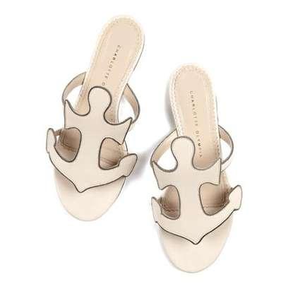 Beachy Anchor Sandals