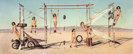 Fierce Desert-Ready Swimwear
