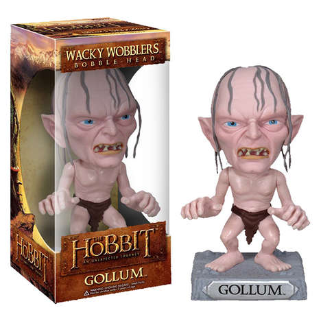 Fantasy-Inspired Wobbling Toys - These Hobbit Bobble Head Toys are Fun Pieces of Movie Memorabilia