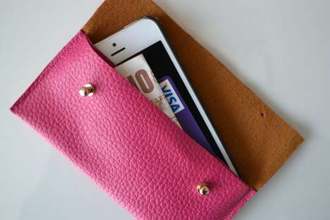 Chic Minimalist Clutches - Add Some Customization to Your Accessories with this DIY Envelope Case