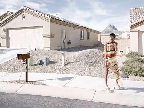 Futuristic Suburbia Editorials