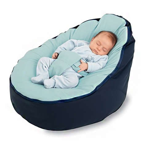 Cozy Infant Seats - The Baby Bean Bag Chair is Perfect to Keep Toddlers Comfy and Secure
