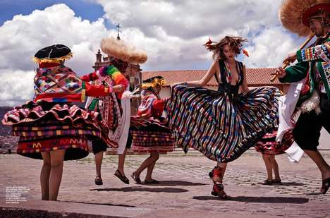 Boho Peru-Inspired Editorials