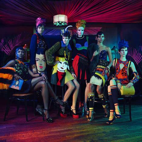 Vibrant '20s Fashion Ads