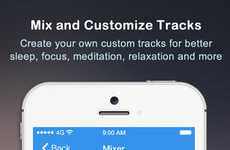 Track-Mixing Relaxation Apps