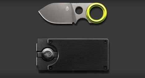 Blade-Concealing Billfolds