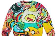 Contemporary Cartoon Crewnecks