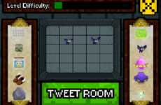 Tweet-Built Games - The #Dungeon Game Allows Users to Make Their Own Levels with Tweets