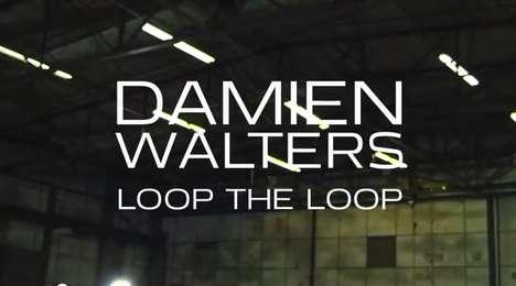 Human Hamster Wheel Stunts