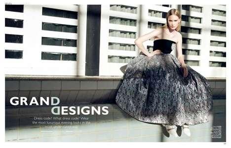Modern Evening Dress Editorials