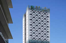 Sustainable Leaf-Themed Hotels - The Renaissance Barcelona Fira Hotel is Sustainable Inside and Out