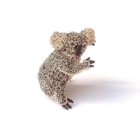 Crochet Copper Wire Jewelry