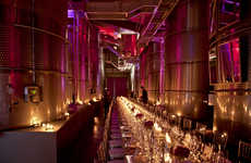 Lavish Crystalline Wine Cellars