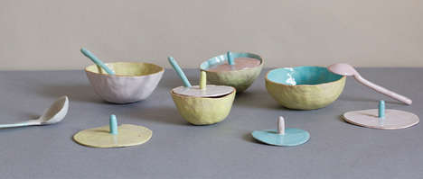 Fruit-Inspired Ceramic Bowls