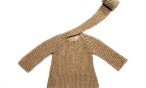 Whimsically Expressive Sweaters - Dialogues Knitwear Flaunts the Personality Behind Fashion