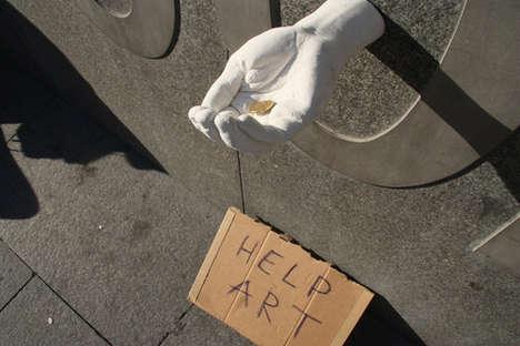 Brazenly Simplistic Hand Sculptures